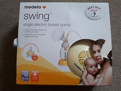 Medela swing single electric breast pump. Immaculate condition, hardly used