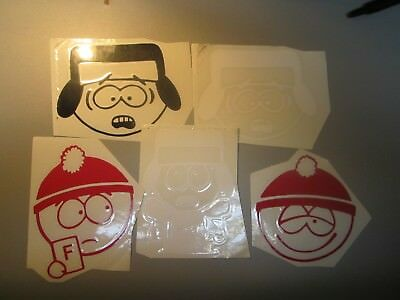"""South park 4"""" x 5"""" decals"""