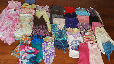 Girls clothing Sz 7 huge Lot of 40 Spring dresses,shorts,tops,swimsuits Gymboree