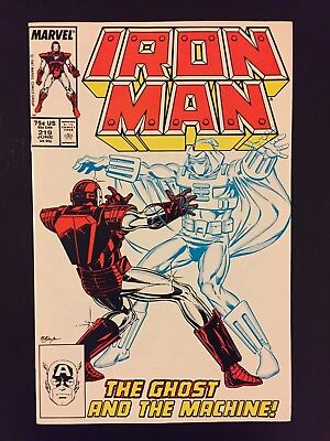 Iron Man 219, 220 First Appearance Of The Ghost! Ant-Man Movie!