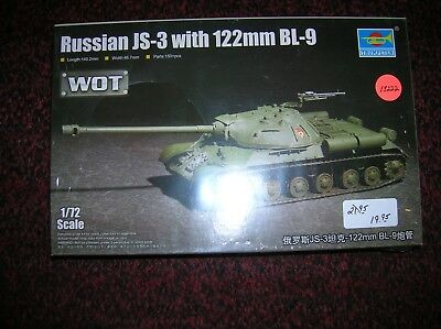 Trumpeter 7163 Russian JS-3 with 122mm BL-9 in 1:72