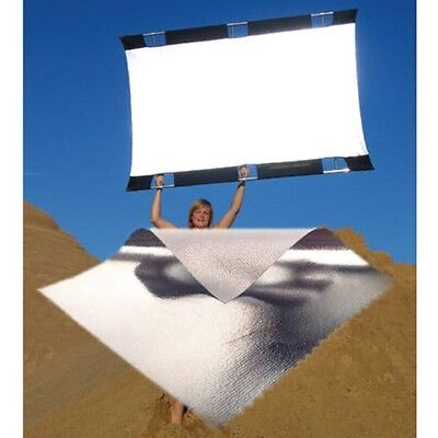 SunBounce Sun-Bouncer Pro Reflector Kit with Silver/White Screen / 3'x4'