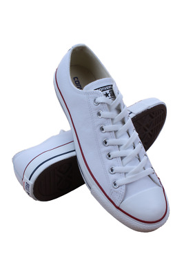 132173C Men Chuck Taylor All Star Low Converse White Leather