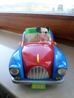 1/18 Burago Micky Maus im Auto Mickey's 113 Disney Collection Made in Italy