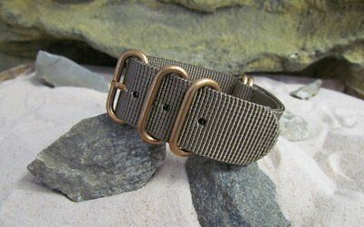 Z5™ Ballistic Nylon w/ BRONZE Hardware By NATO Strap Co.(℠)