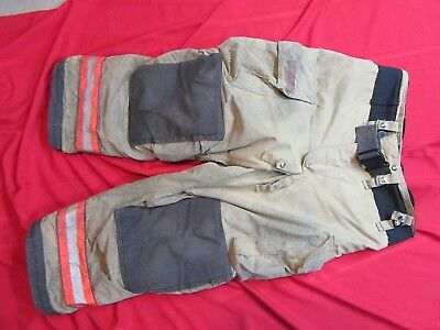2008 Globe G-XTREME Firefighter Bunker Turnout Pants 42 x 28  thermal liner gold
