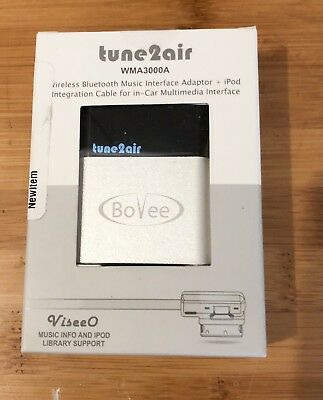 NEW Bovee WMA3000A+ Wireless Bluetooth Music Interface Adaptor for in car iPod