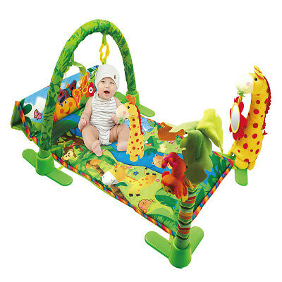 Baby Light & Musical Forest Adventure Gym Activity Playmat Play Mat Toy