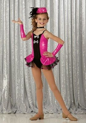 Don't Want To Show Off Dance Costume, Mitts Child Small New