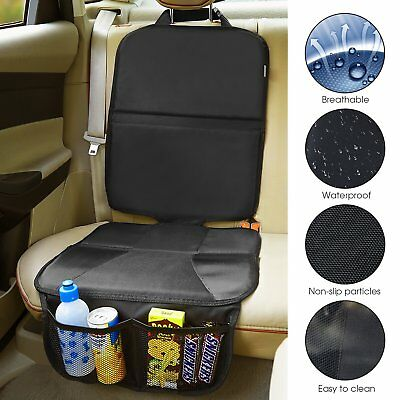 Universal Baby Car Seat Safety Grip Mat Car Seat Protector PU Leather Anti-Kic