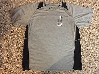 Monster Energy Drink Logo Muscle T Shirt Men's Size Extra Large XL