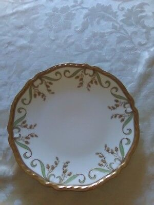 Vintage Blakeman & and Henderson Plate Ornate with Gold Design 8.5""""