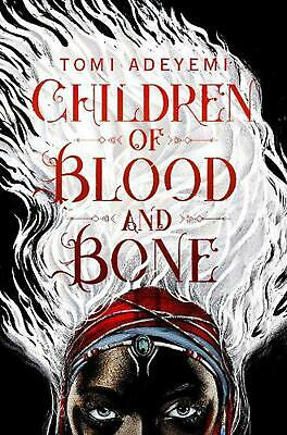 Children of Blood and Bone by Tomi Adeyemi Paperback Book Free Shipping!