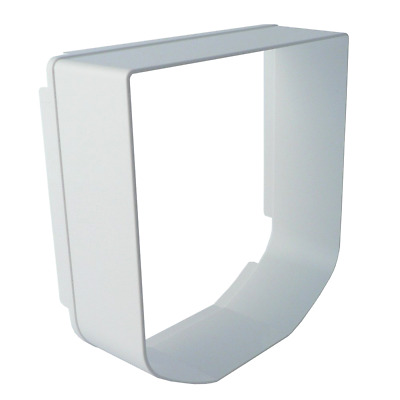 SureFlap Microchip Cat Flap Tunnel Extender in White, Adds 50mm in Length