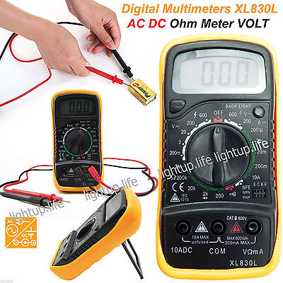 2018 LCD Digital Multimeter Voltmeter ACDC Voltage Tester Circuit Checker Buzzer