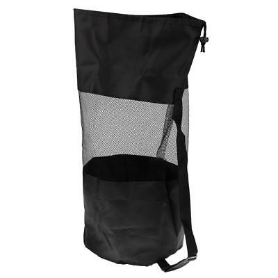 "Scuba Dive Snorkeling Drawstring Mesh Gear Bag Backpack 24"" x 10"" Heavy Duty"