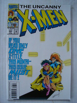 X-Men Uncanny #303 Marvel Comic High Grade August 1993