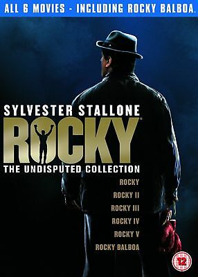 Rocky: The Complete Collection 1 2 3 4 5 & 6 Saga Box Set DVD - NEW & SEALED