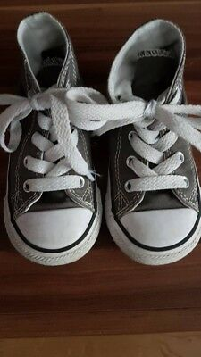 Converse Chucks All Star Kinder Gr. 22 in grau top Zustand