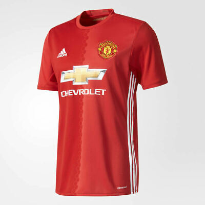 adidas Manchester United Home Matchday Premium Short Sleeved Jersey 2016-17