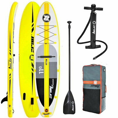 ZRAY A4 Premium 11.6 SUP Board Stand Up Paddle Surf-Board aufblasbar Paddel ISUP