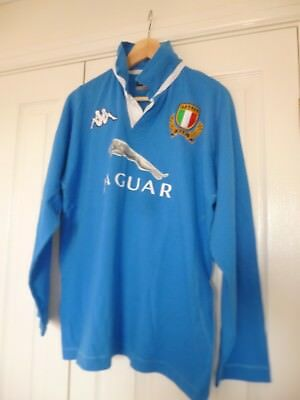 Kappa Italy rugby shirt - size large