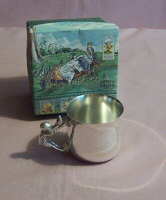 Lunt Silver Plate Winnie the Pooh Baby Cup