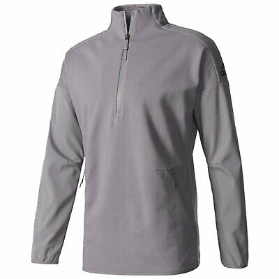 Adidas Mens ZNE 90/10 Half Zip Track Top - New Training Fitness Sports Pullover