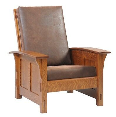 Custom Made | Mission Arts & Crafts | Stickley Style | Morris Chair | USA Made!