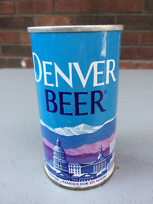 Denver by Tivoli, Nice BO Ring Pull All Original Indoor Can, Great Condition.