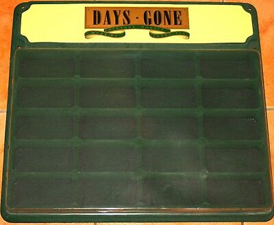 Days Gone Wall Display Unit Holds 20 Models - Unused, No Damage