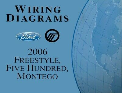 2006 ford freestyle five hundred montego etvm wiring diagram manual rh picclick co uk