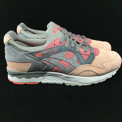 premium selection 1eeca b1152 ASICS GEL LYTE 5 V Aluminum White Suede Orange Gray Cream Trainer HL7K0-2996