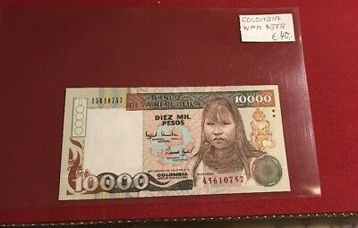 Colombia 10.000 Pesos Banknote 1994 WPM 437A