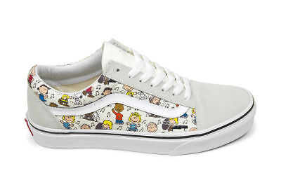 9e828796ce628d VANS PEANUTS OLD Skool Multi Charlie Brown Snoopy Trainers Shoes ...