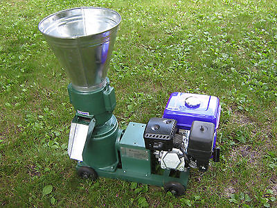 """6""""  7.5hp gas power Pellet Mill. USA In Stock. Free Shipping!"""