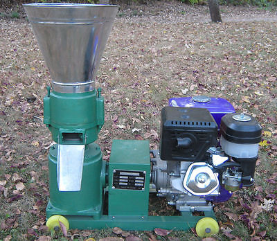 "Model 150 6"" 13hp Gas w/Electric Start Pellet Mill. USA In Stock. Free Shipping!"