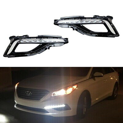 High Power LED Daytime Running Light DRL Lamps For 15-up Hyundai Sonata SE Model
