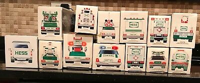 Hess Trucks 1990-2000, 2002 & 2004 in boxes