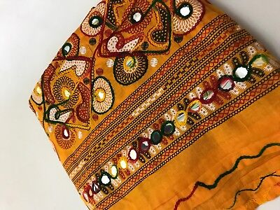 $11.99 Hot Sale Kutchi  Indian Dupatta  High Quality 100% Cotton Women Scarf