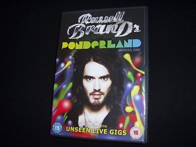Russell Brand : Ponderland Series One (2008 Dvd) Excellent