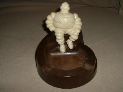 ORIGINAL 1940's MICHELIN MAN TIRES BAKELITE ASHTRAY Made in USA
