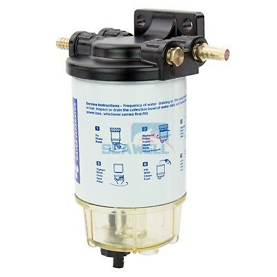 Boat Fuel Filter Marine Fuel Water Separator Mercury/Yamaha Outboard 10 Micron