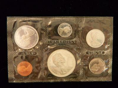 1966 Canada PL set 1.1 ounce of silver  NO reserve! (BK2)