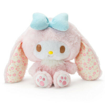 My Melody Plush Doll Easter 2018 Pastel Rabbit Sanrio Japan