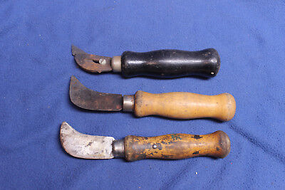 Lot of three vintage Carpet Knives Knife United Industries