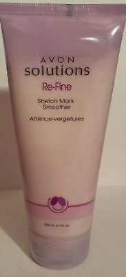 Avon Solutions Re-Fine Stretch Mark Smoother 200 ml 6.7 fl oz HARD TO FIND - NEW