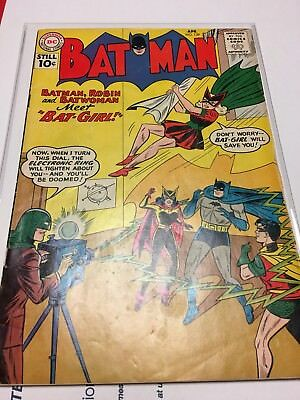 1961 Batman #139 VG 1st App Batgirl (Betty Kane) BATWOMAN Appears Silver Age Key