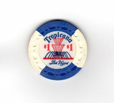 $1 Tropicana, Las Vegas ~~  Issued in 1959  Small Crown Mold!!