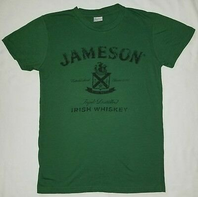 Men's Jameson Irish Whiskey T-shirt, Green, Size Large